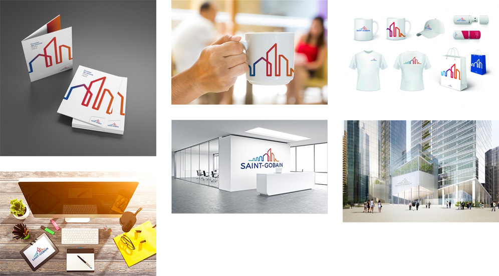 New Logo and Identity for Saint-Gobain by Terre de Sienne