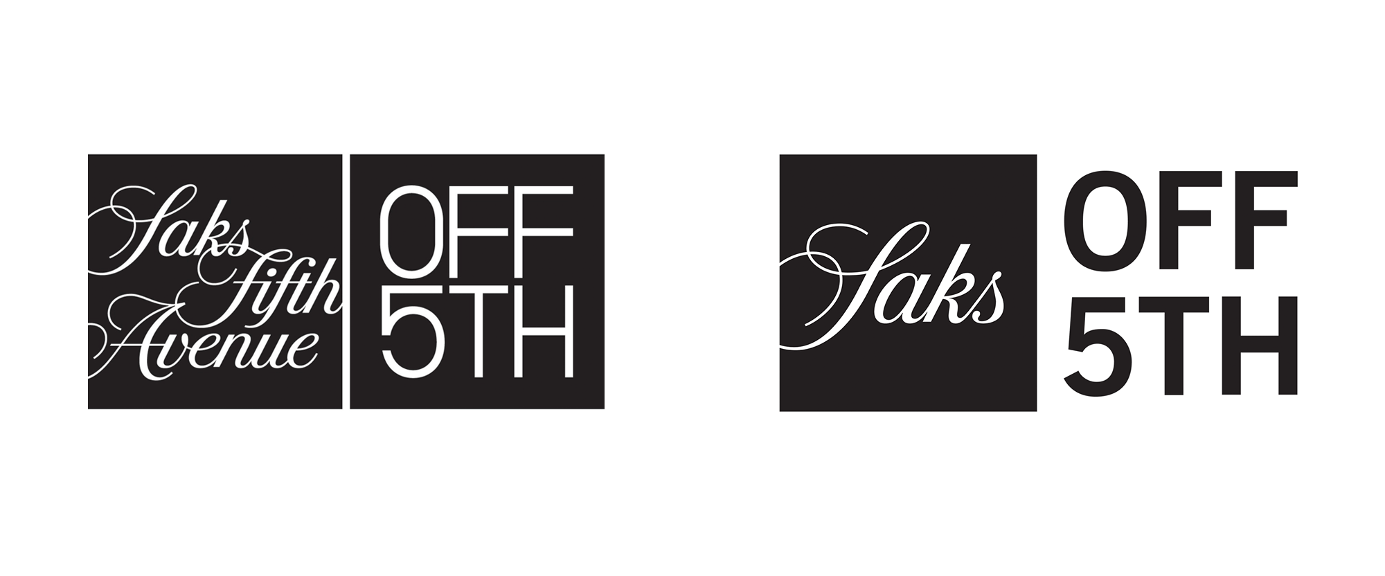 New Logo for Saks Off 5th
