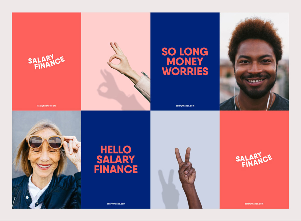 New Logo and Identity for Salary Finance by Ragged Edge