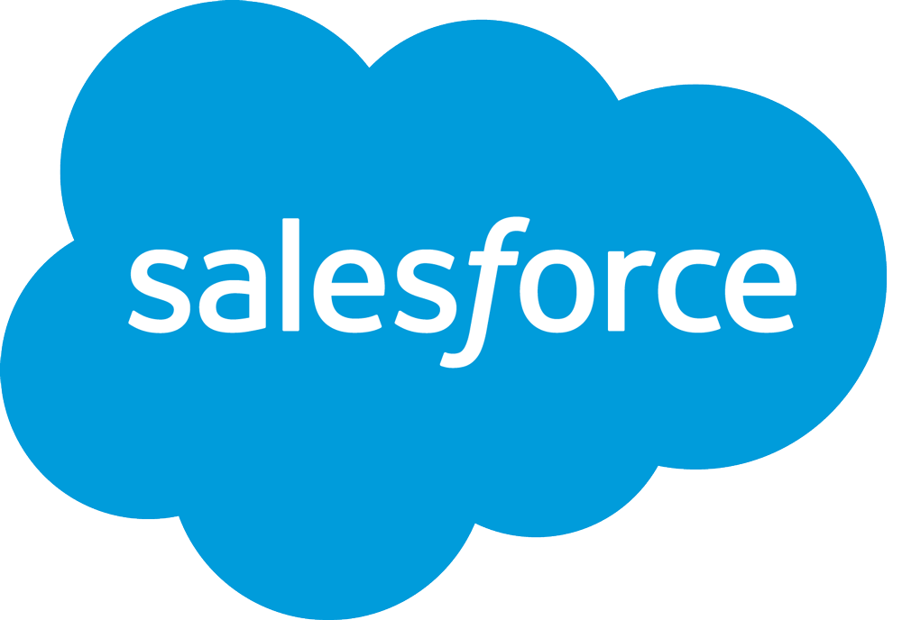 Bilderesultat for salesforce logo