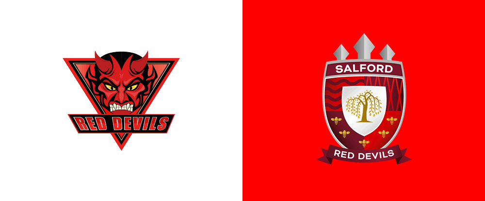 New Logo for Salford Red Devils