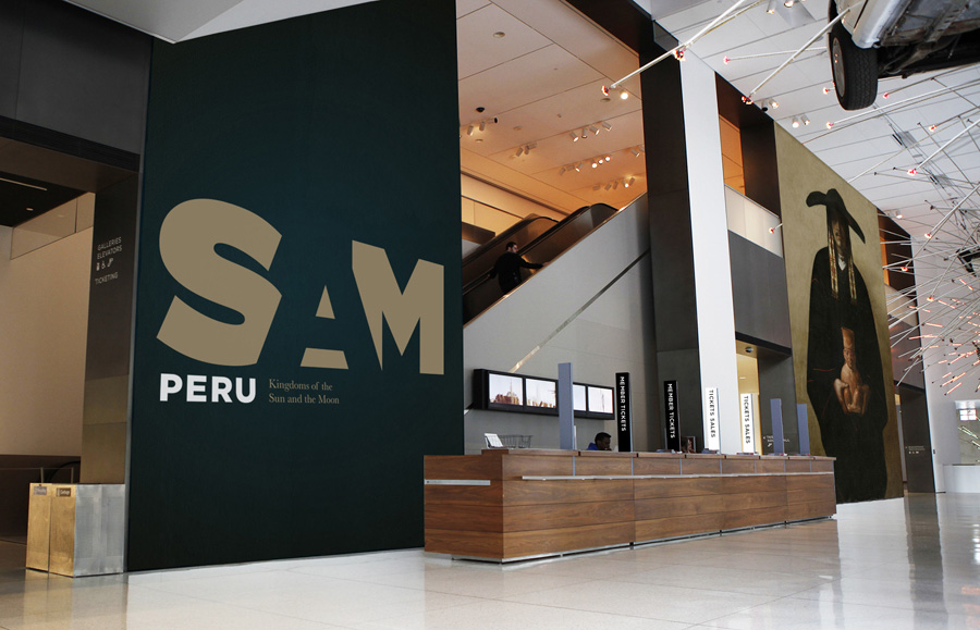 New Logo and Identity for SAM by Hornall Anderson