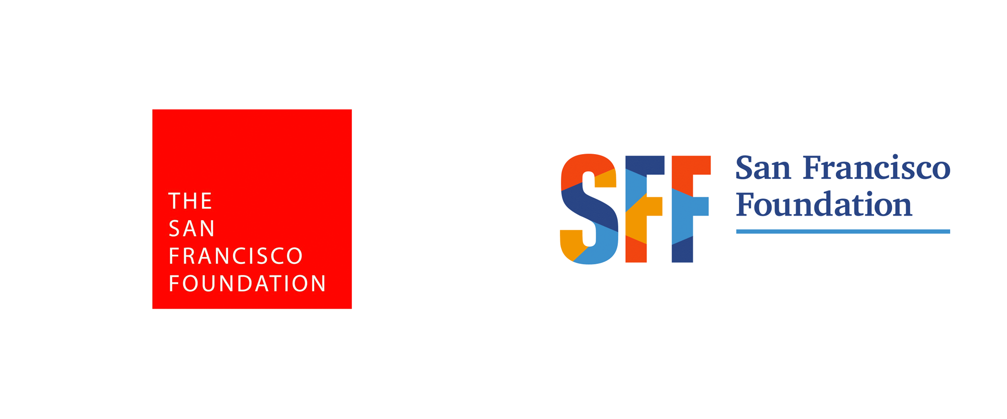 New Logo for San Francisco Foundation done In-house