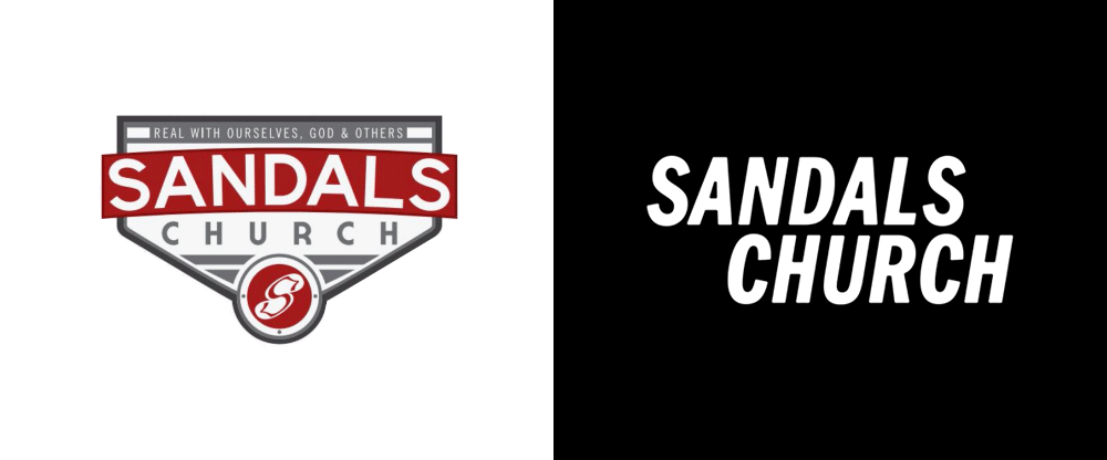 46c43dd3f26ce Brand New  New Logo and Identity for Sandals Church done In-house