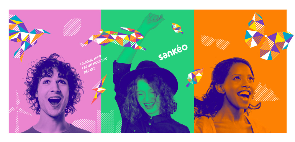 New Name, Logo, and Identity for Sankéo by Graphéine