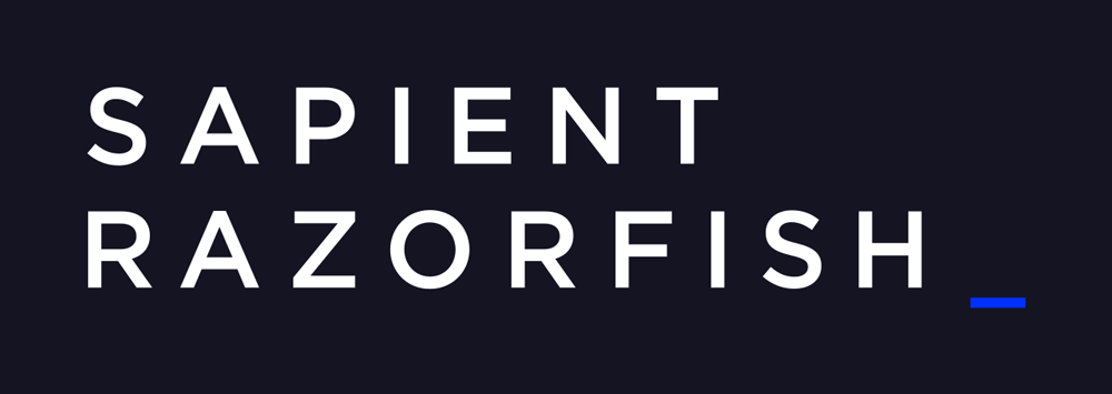 brand new  new name and logo for sapientrazorfish