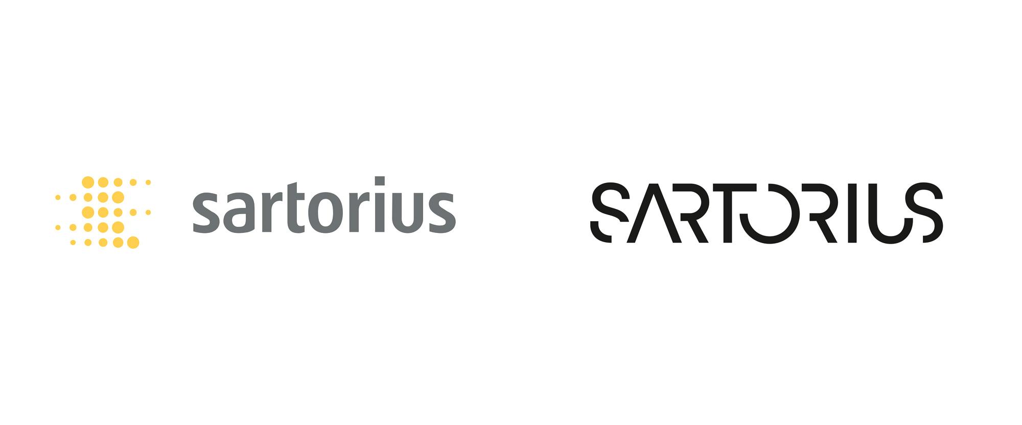 New Logo for Sartorius