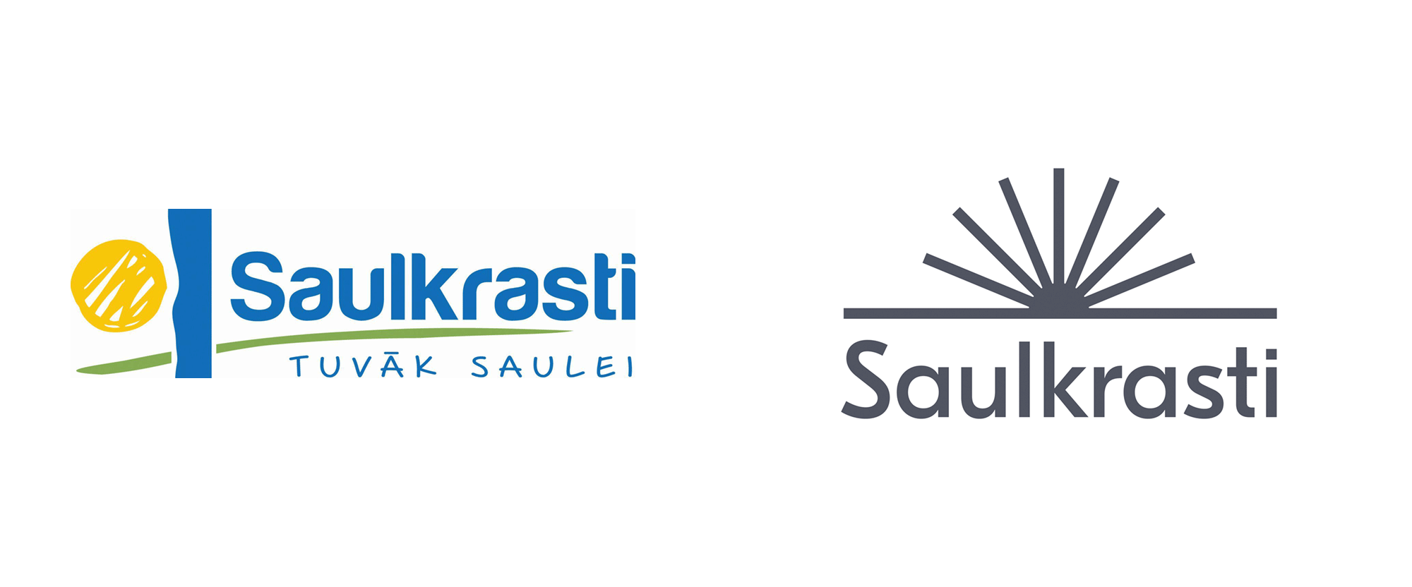 New Logo and Identity for City of Saulkrasti by Azai Studios