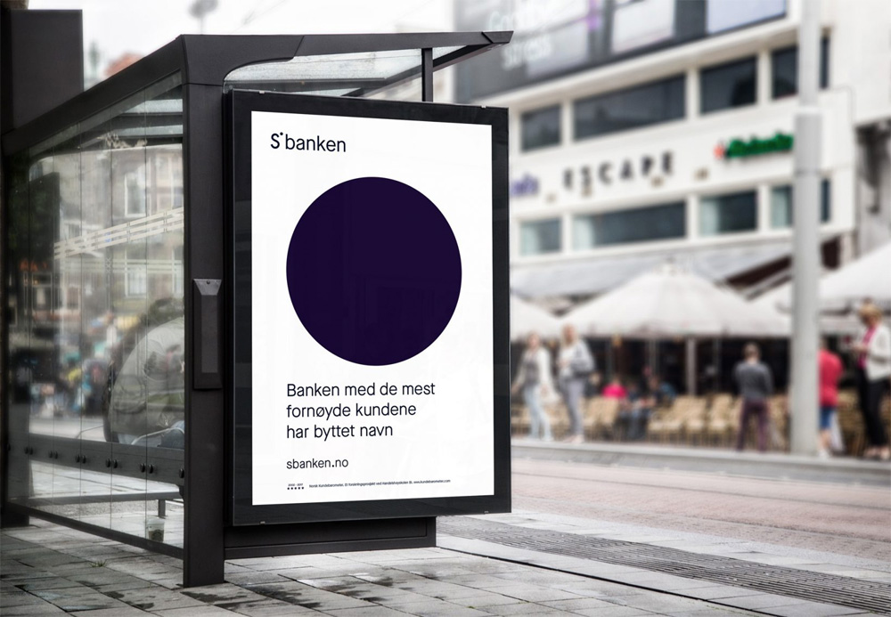 New Logo and Identity for Sbanken by Bleed