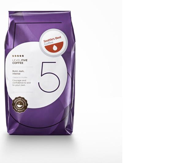 Seattle's Best Logo Packaging