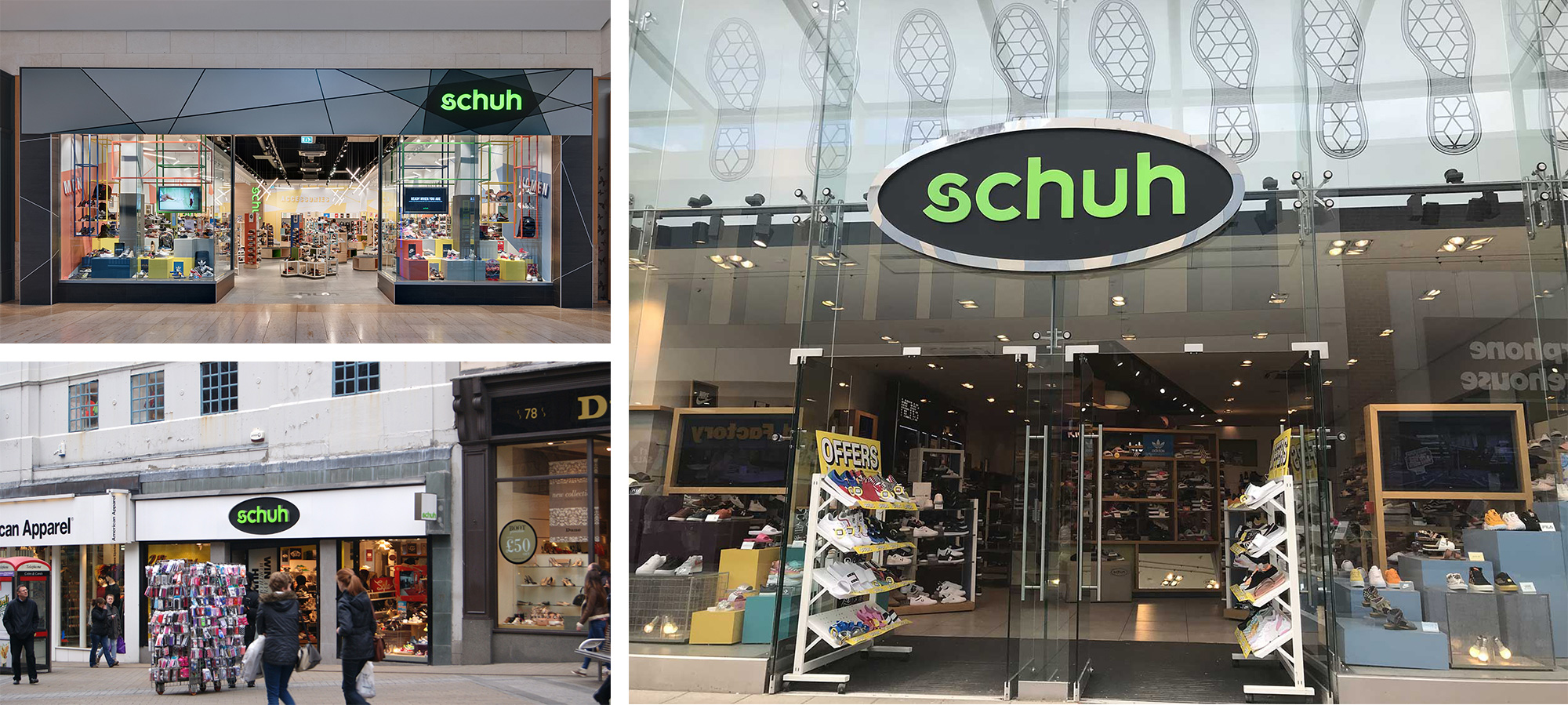 New Logo and Identity for Schuh by Snask