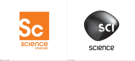 Science Logo, Before and After