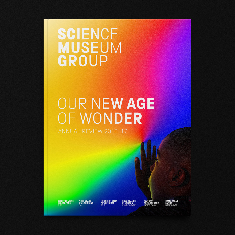 Latest Scientific News: Brand New: New Logo And Identity For Science Museum (and