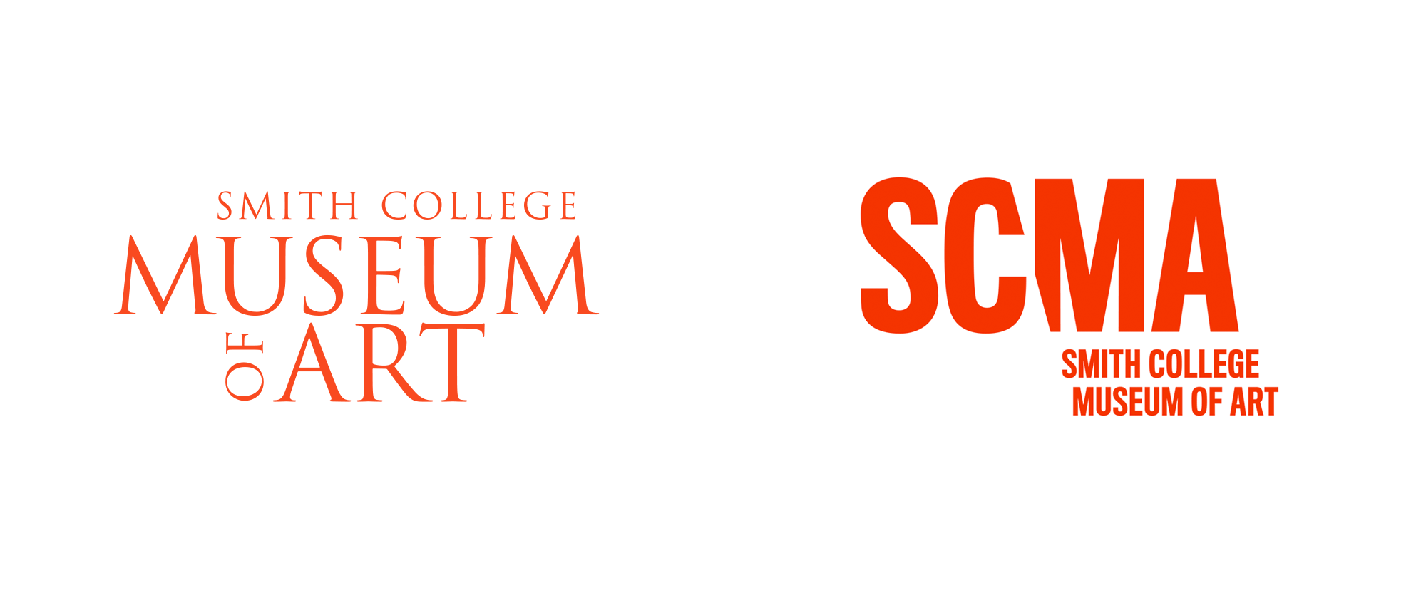 New Logo and Identity for Smith College Museum of Art by Minelli