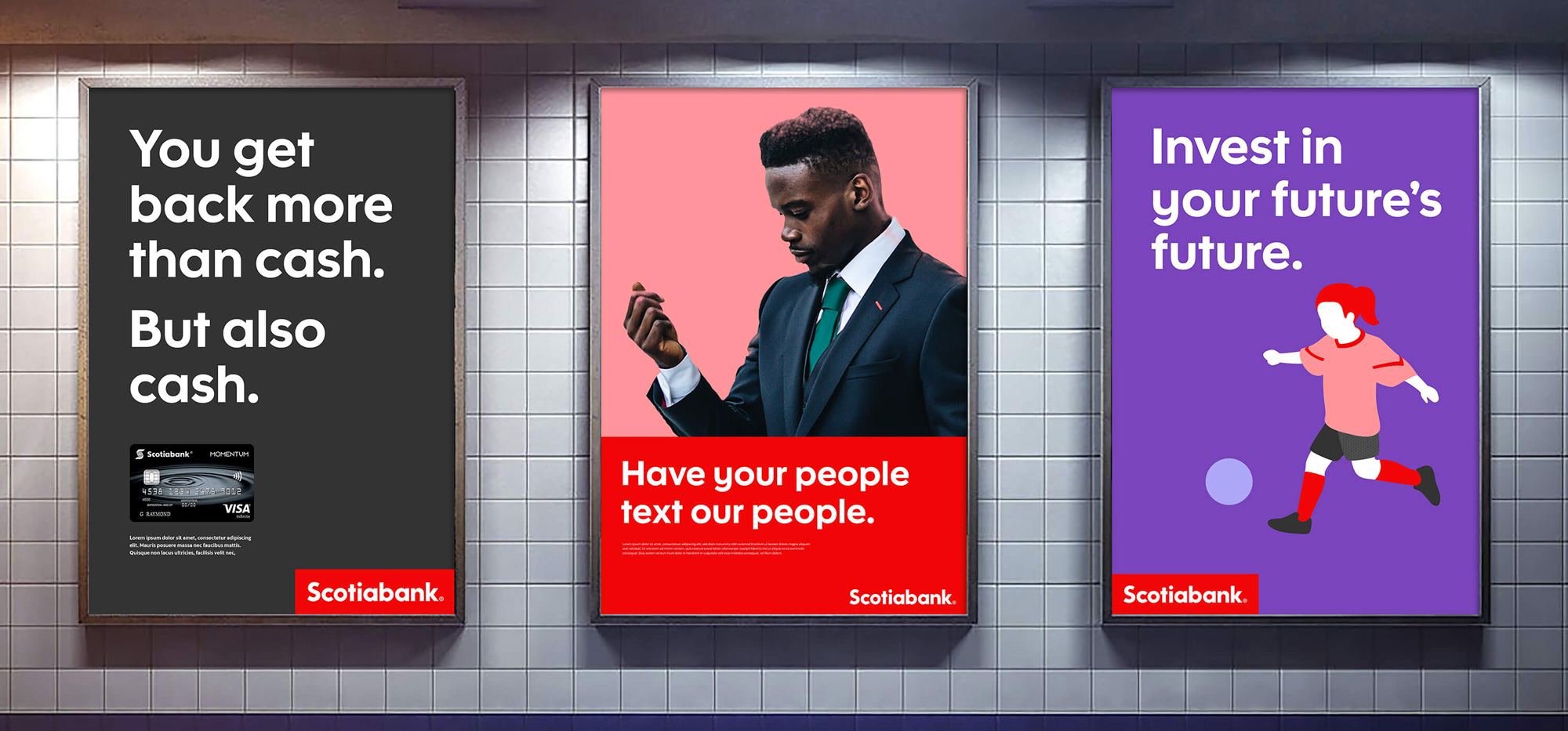 Brand New: New Logo and Identity for Scotiabank