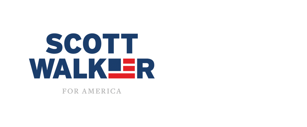 New Logo for Scott Walker done In-house