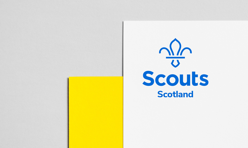 New Logo and Identity for The Scouts Association by NotOnSunday