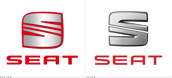 SEAT Logo, Before and After