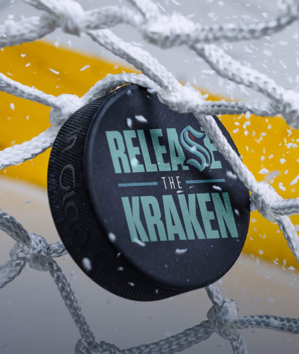 New Name and Logo for Seattle Kraken - Brand New