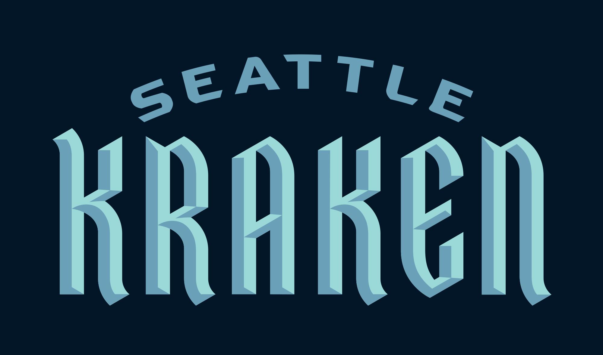 New Name and Logo for Seattle Kraken