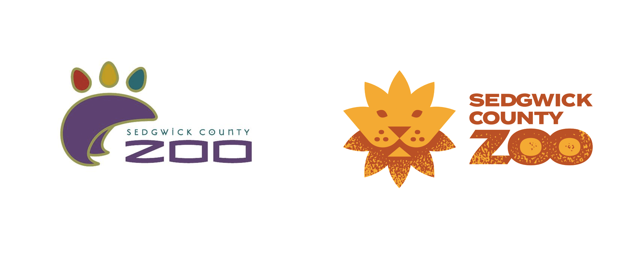 New Logo for Sedgwick County Zoo by Gardner Design
