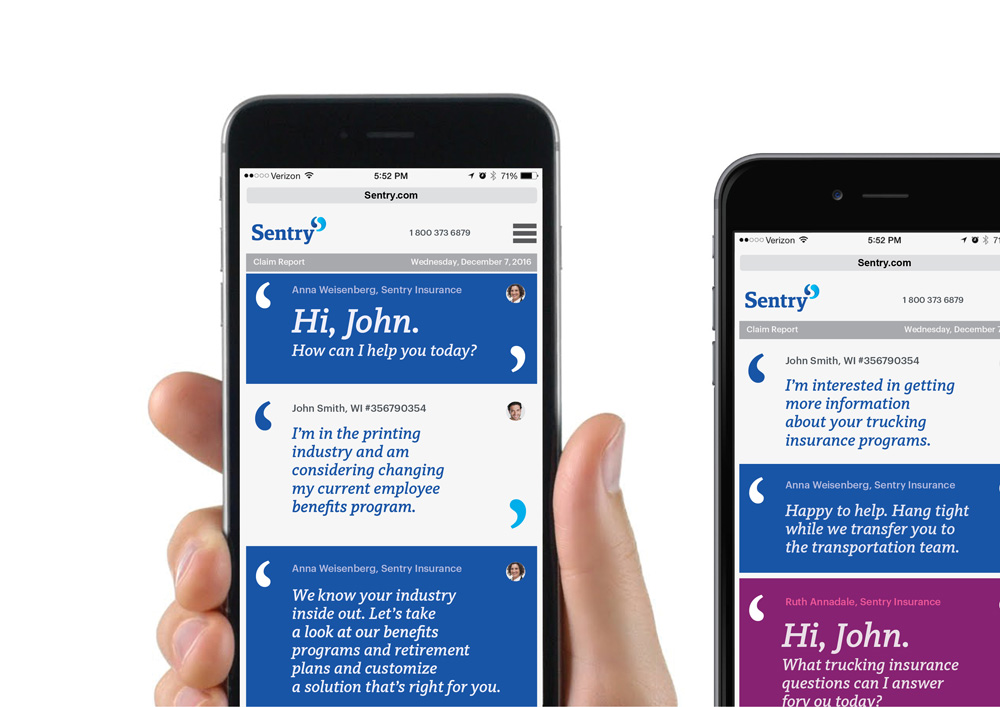 Follow-up: New Identity for Sentry by Futurebrand