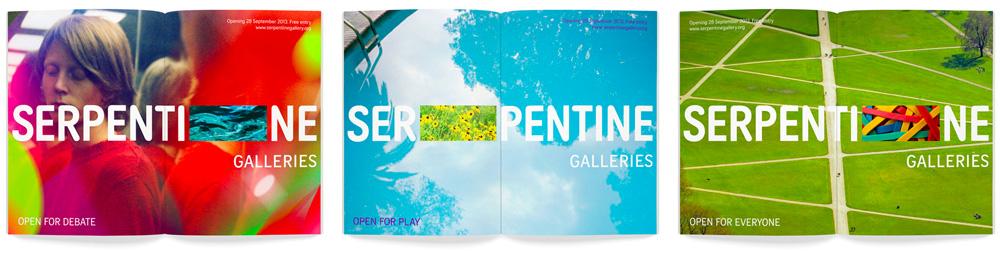 New Logo for Serpentine Galleries by Pentagram