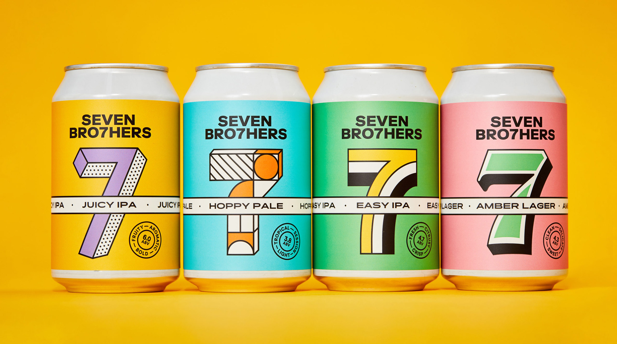 New Logo and Packaging for Seven Bro7hers by Creative Spark
