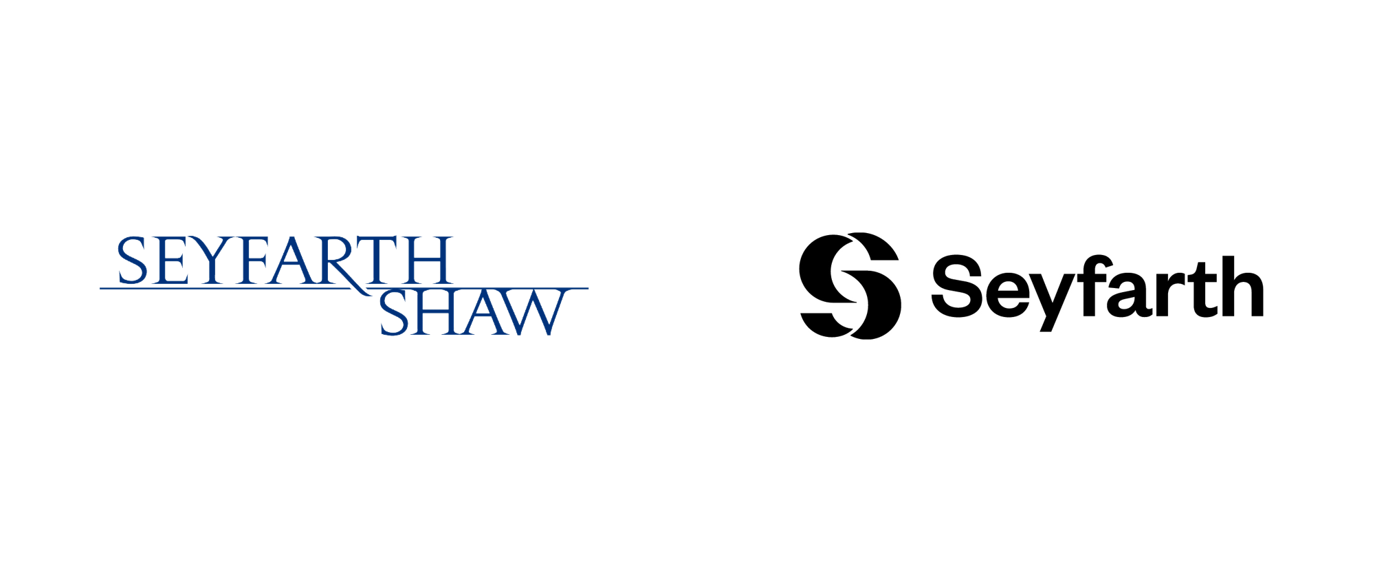 New Logo and Identity for Seyfarth by Carbone Smolan Agency