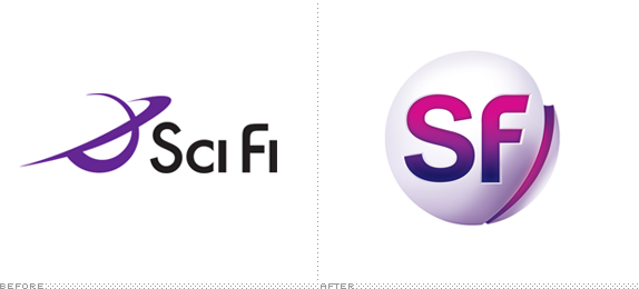 SF Channel Logo, Before and After