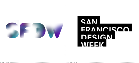 SFDW Logo, Before and After
