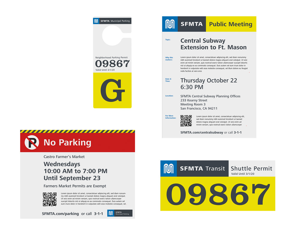 New Identity for SFMTA by Demian Rosenblatt