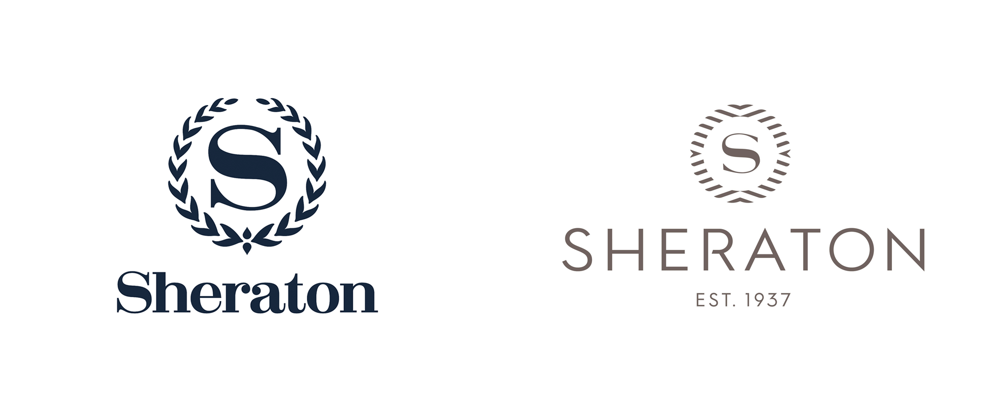 New Logo for Sheraton by Grey