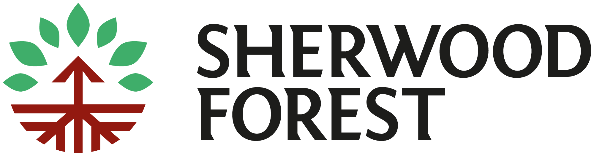 New Logo and Identity for Sherwood Forest by Cafeteria