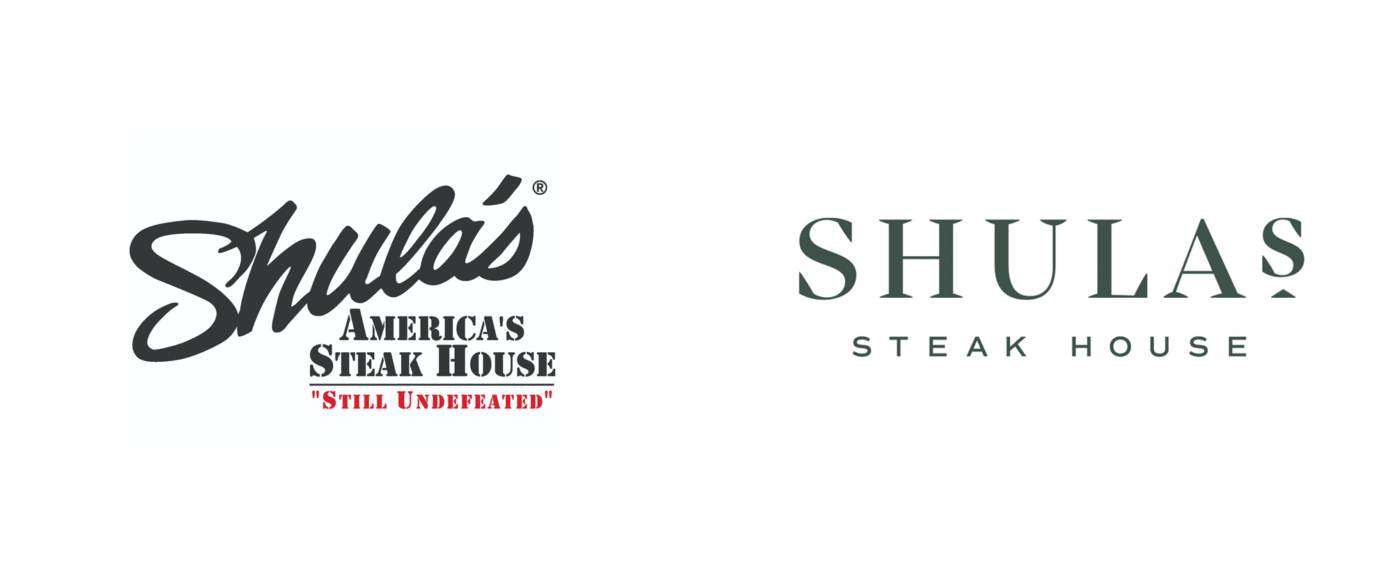 New Logo and Identity for Shula's Steakhouse by Temper