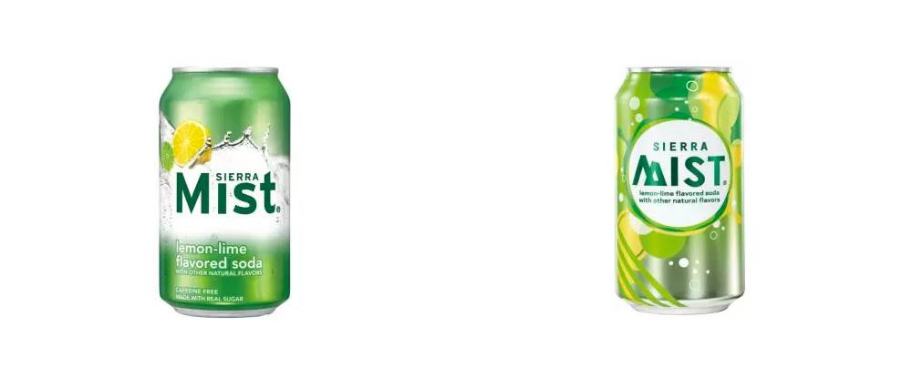 New Logo and Packaging for Sierra Mist