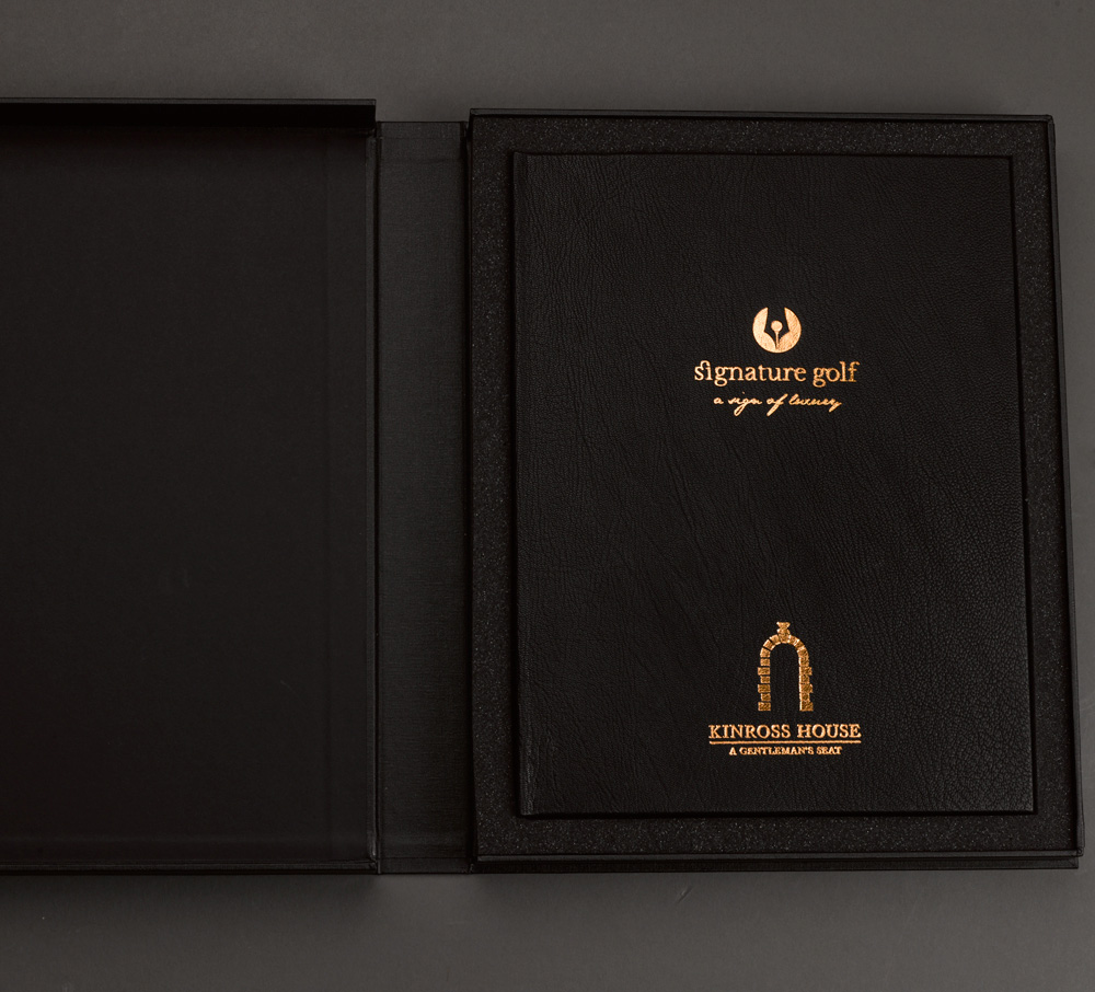 New Logo and Identity for Signature Golf UK by SMR Creative