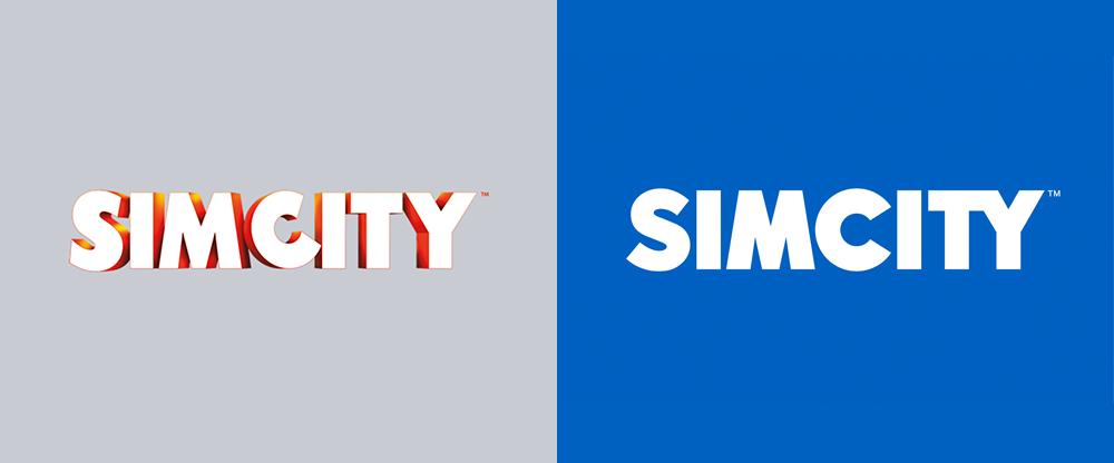 New Logo for SimCity Series by Kobra Agency