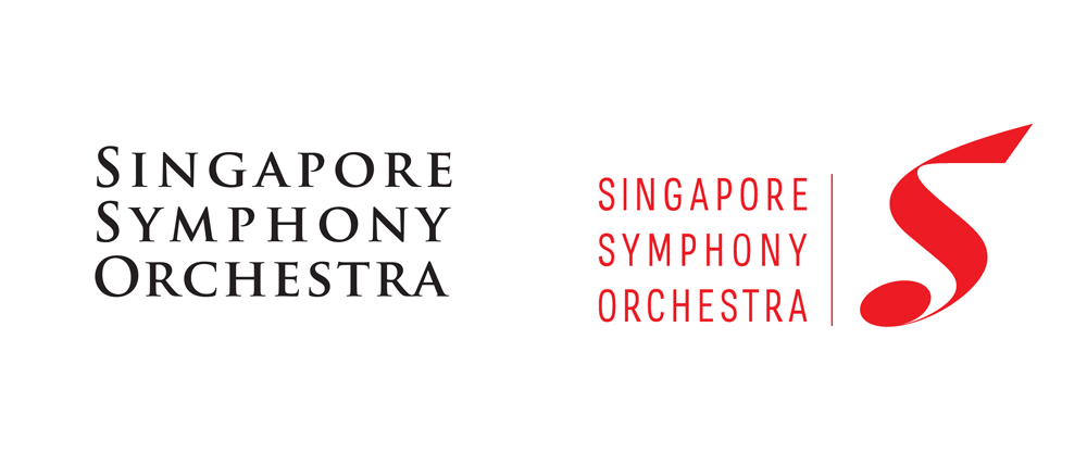 New Logo and Identity for Singapore Symphony Orchestra by Vantage