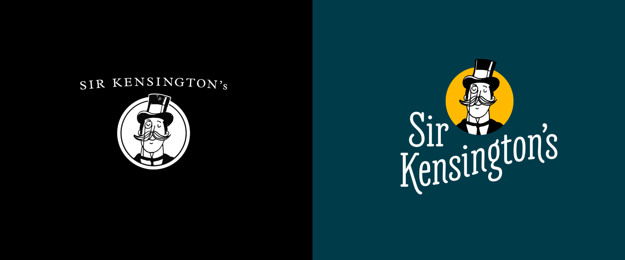 New Logo and Packaging for Sir Kensington's done In-house