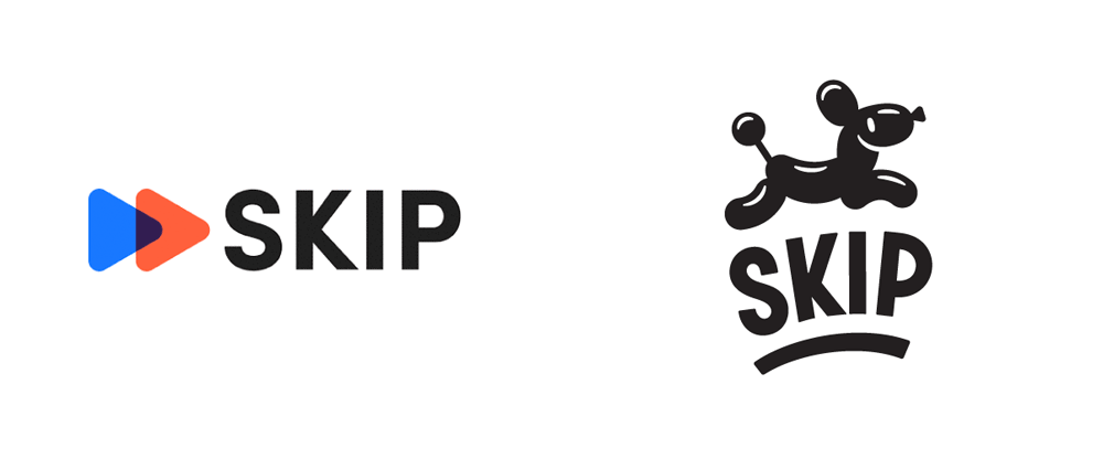 New Logo and Identity for Skip by Hoodzpah Design