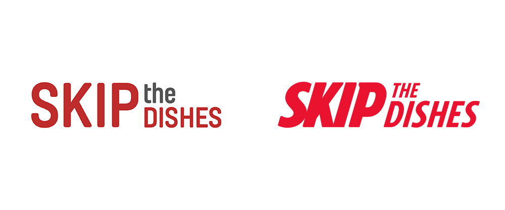 New Logo for Skip the Dishes