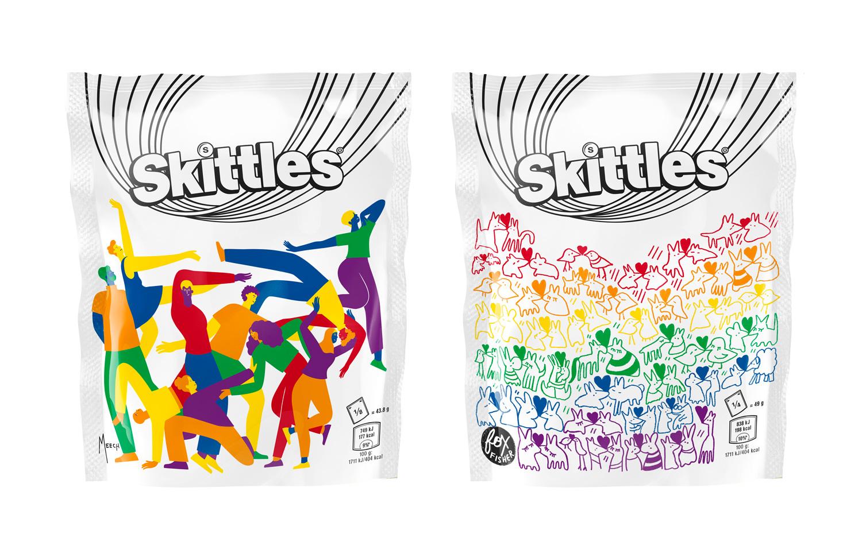 Skittles Pride 2019 Packaging