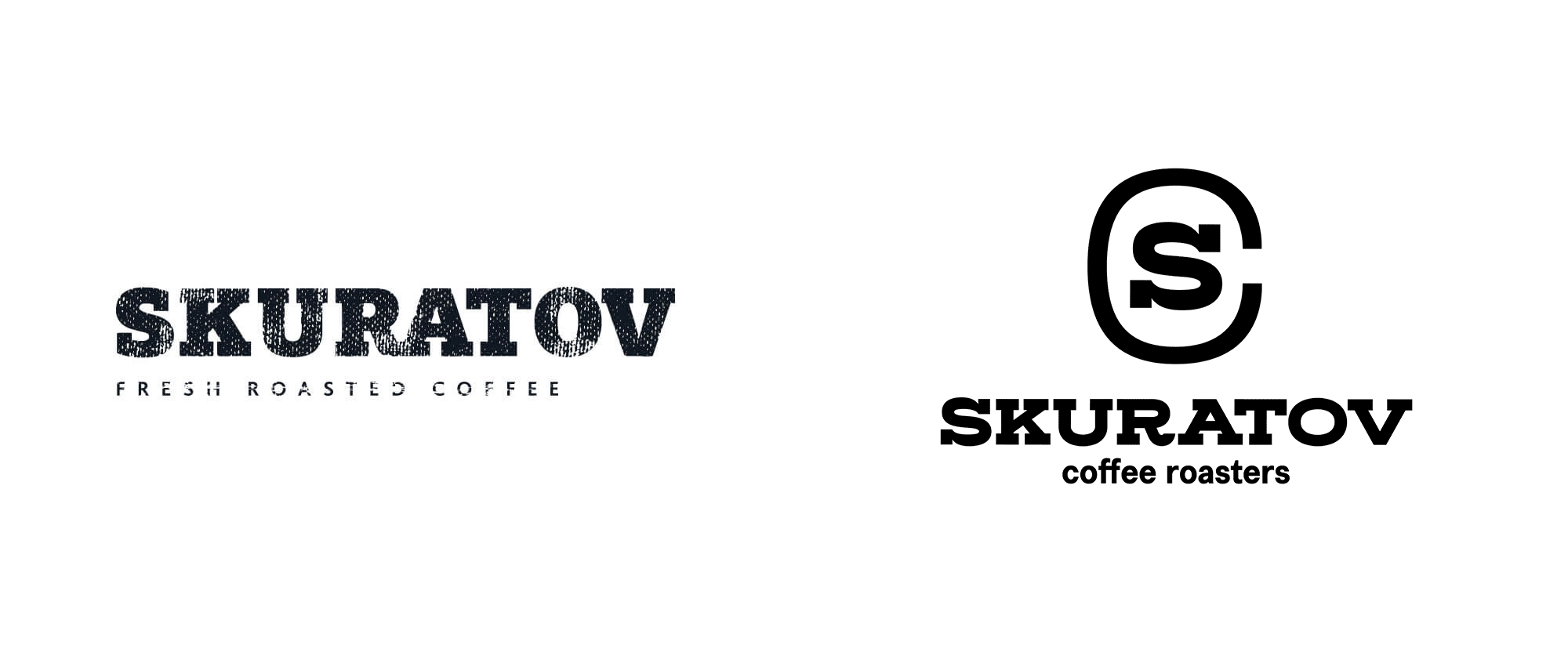 New Logo and Identity for Skuratov Coffee by White Russian Studio