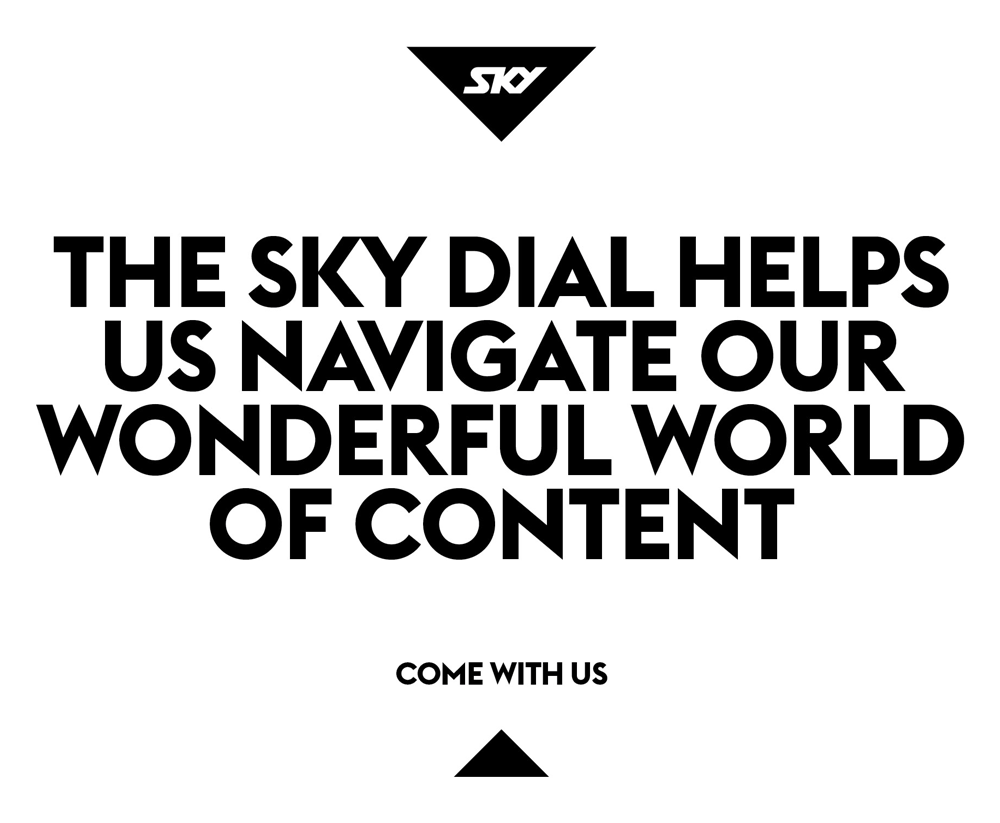 New Logo and Identity for SKY by Interbrand