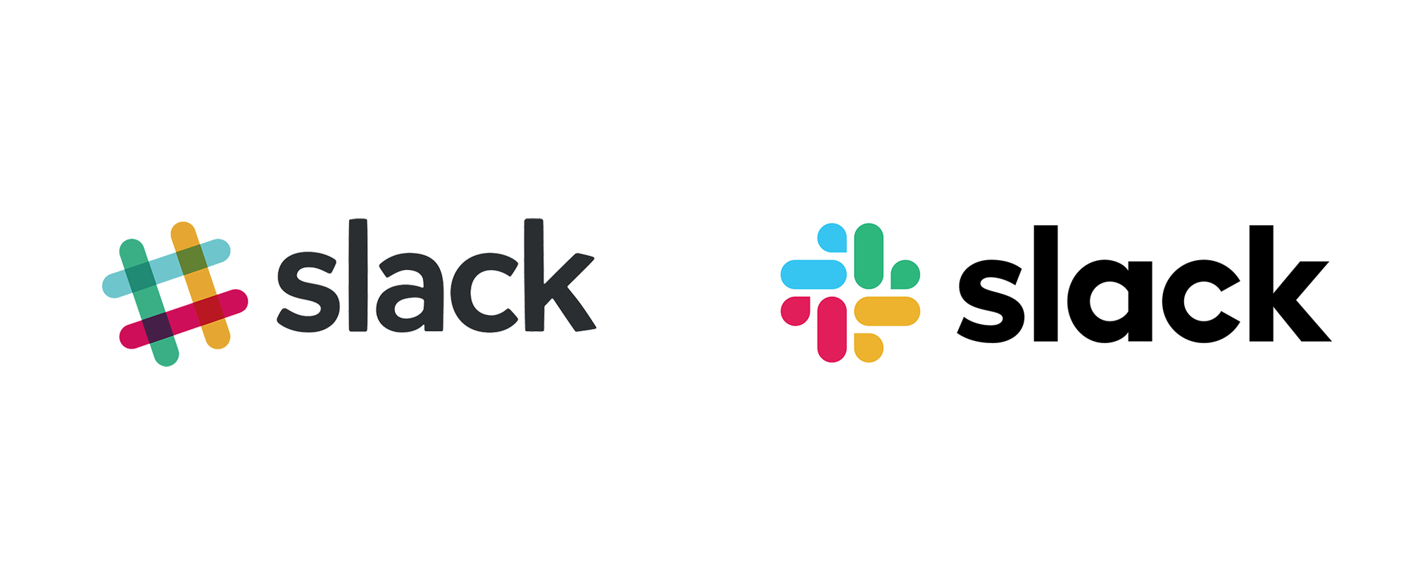 New Logo and Identity for Slack by Pentagram and In-house