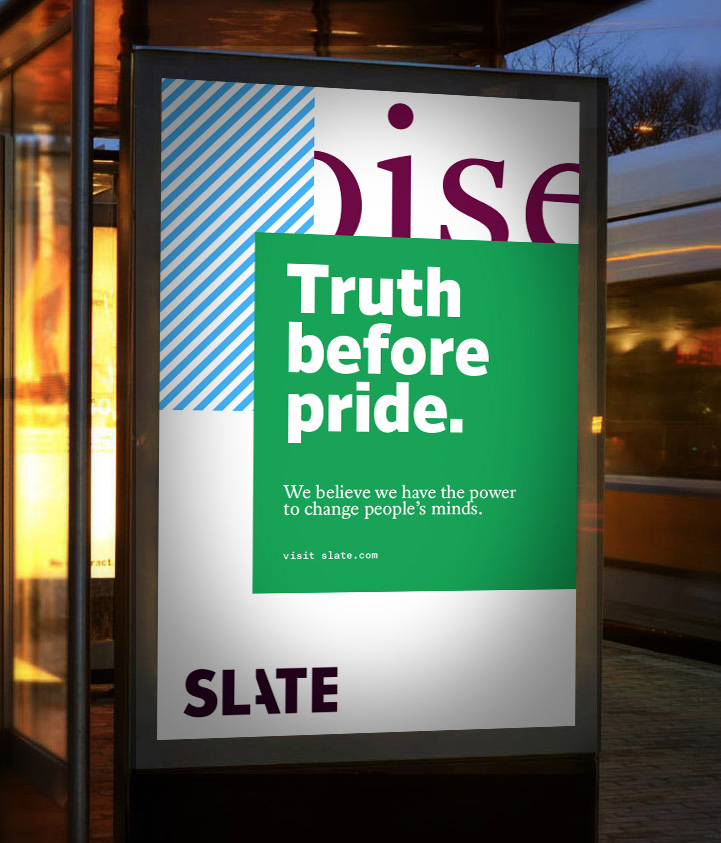 New Logo and Identity for Slate by Gretel in Collaboration with In-house