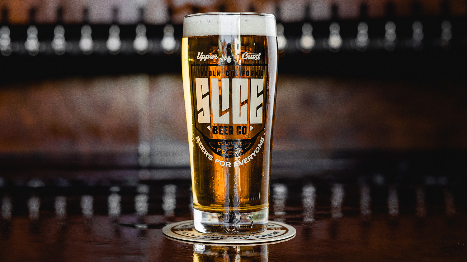 New Logo and Identity for Slice Beer Co by Brethren Design Co