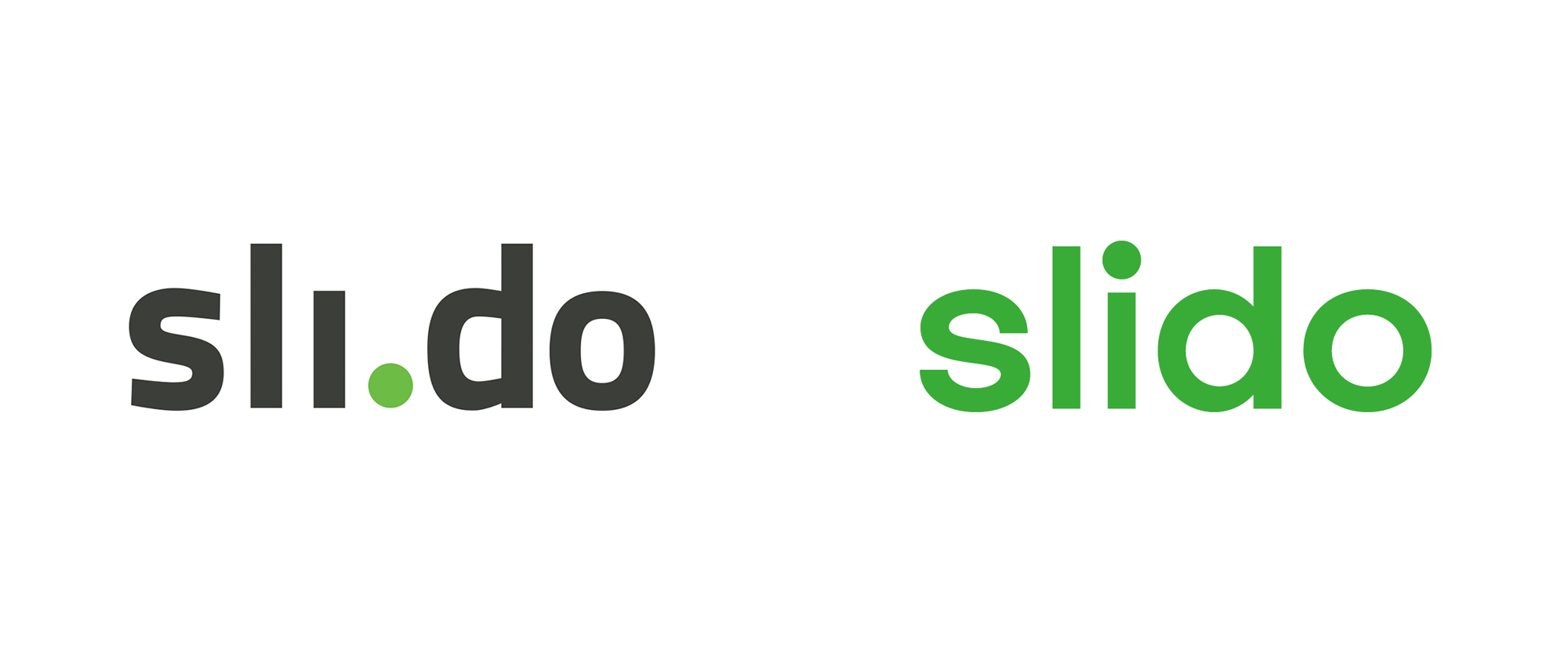 New Logo and Identity for Slido by GoBigname