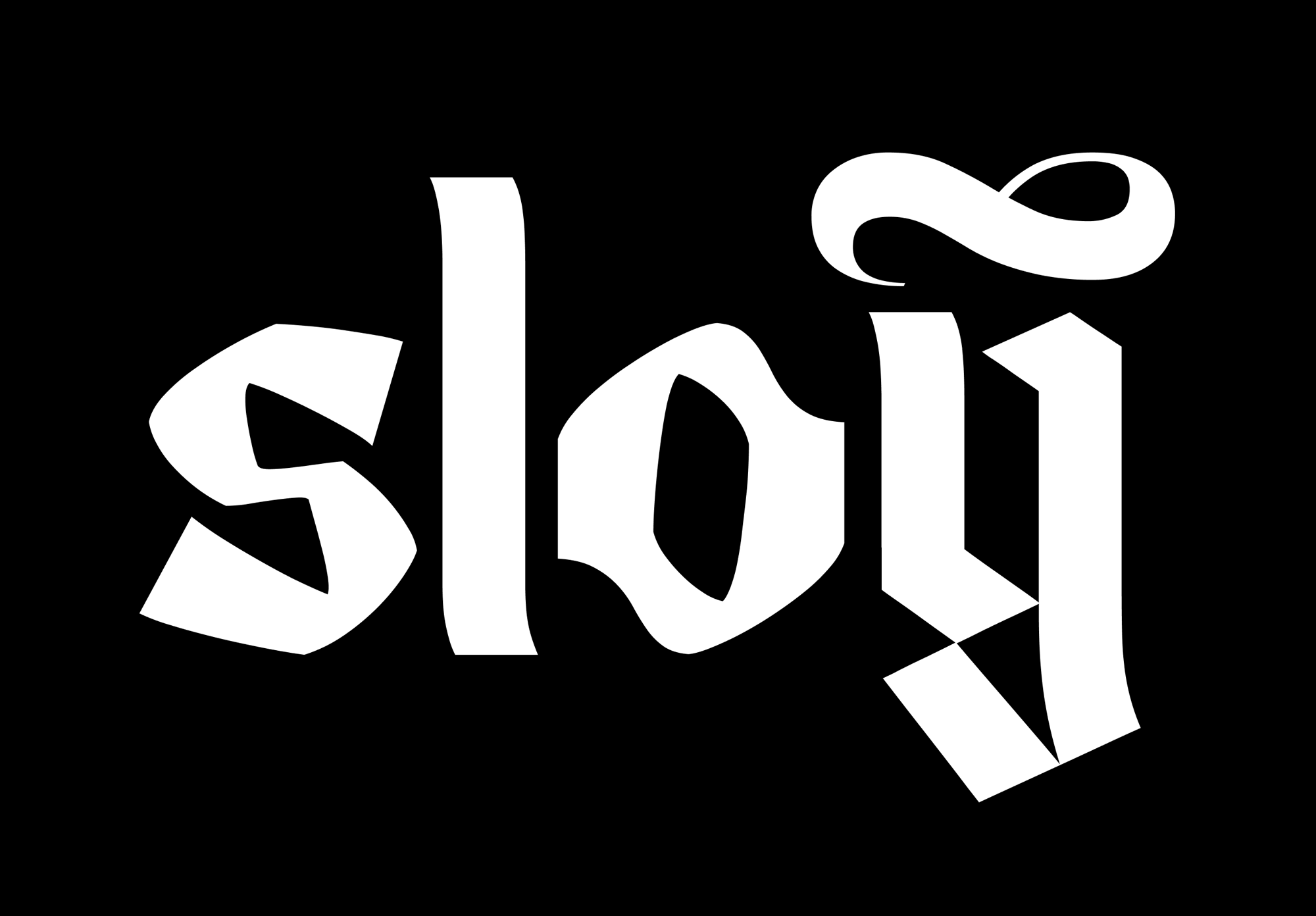 New Logo and Identity for Sloy done In-house